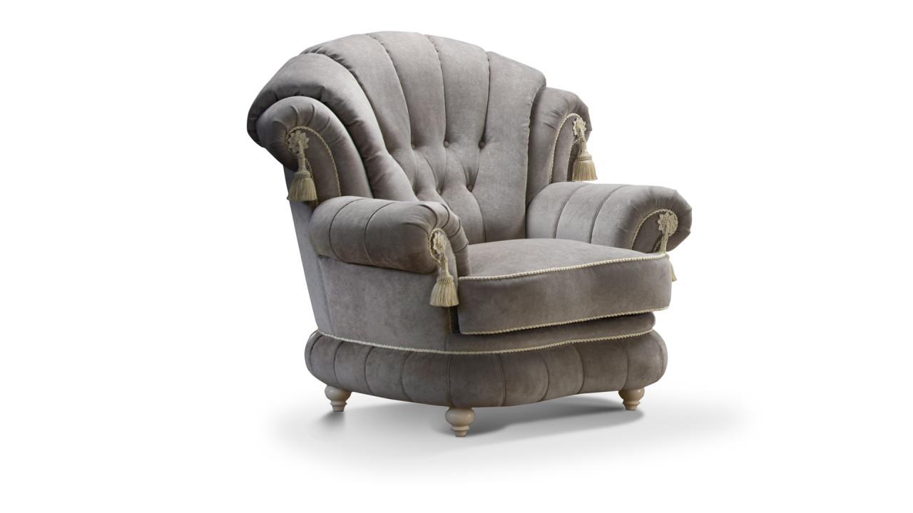 Кресло ШИК 701 светло-серый