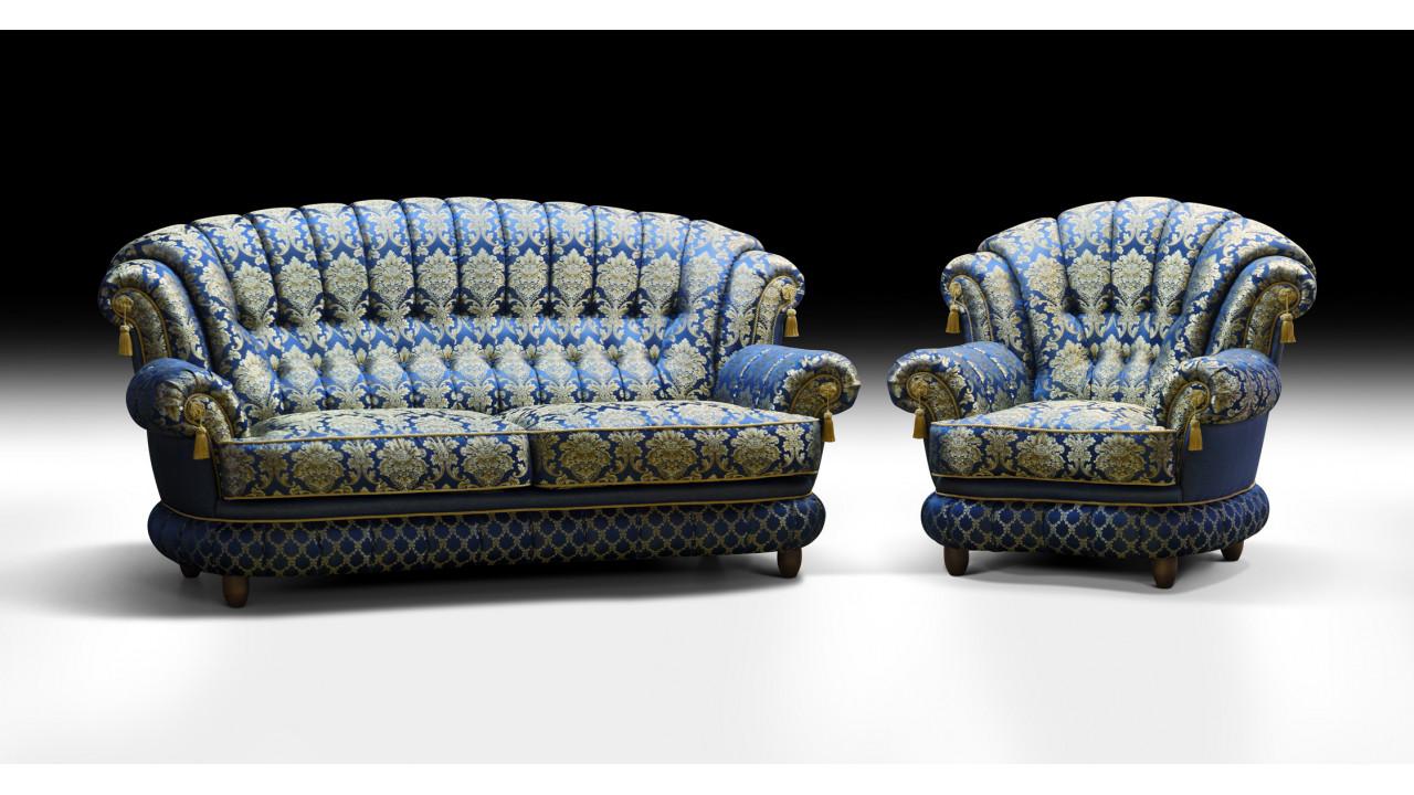 ШИК 701  светло-синий (03 с креслом 04)
