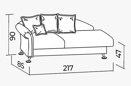 Размеры -ШИК 131 светло-желтый