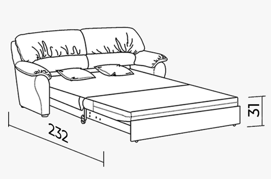 Размера - ШИК 610 белый 198