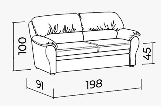 Размера -ШИК 610L коричневый