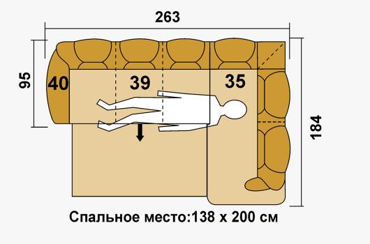 Размеры -ШИК 630 коричневый1