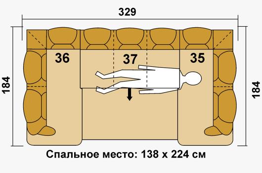 Размера -ШИК 630 коричневый1