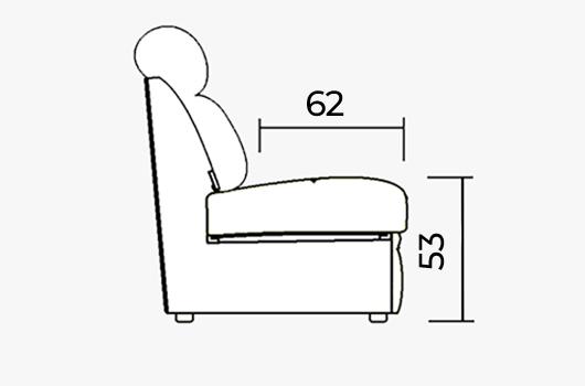 Размера - ШИК 640к белый велюр